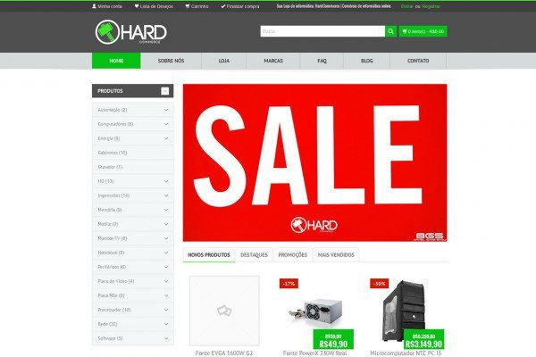 Hardcommerce – Site